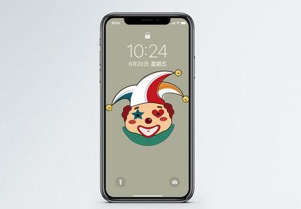 小丑手机壁纸图片