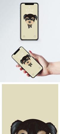 萌狗手机壁纸图片