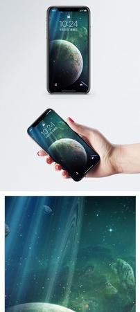 科幻宇宙星球手机壁纸图片