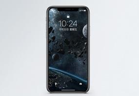 陨石空间手机壁纸图片