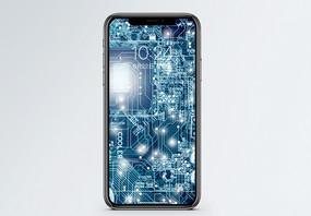 电路板手机壁纸图片