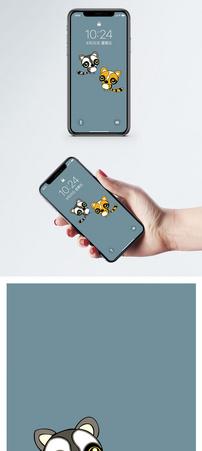 小棕熊手机壁纸图片
