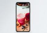 新鲜果汁手机壁纸图片