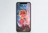新鲜石榴手机壁纸图片