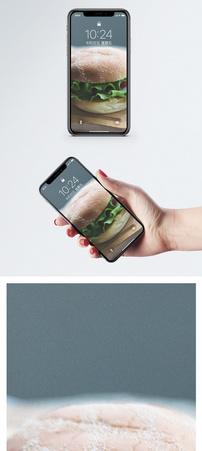 汉堡包手机壁纸图片