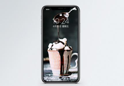 巧克力甜品手机壁纸图片