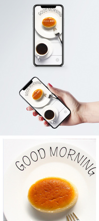 芝士蛋糕手机壁纸图片