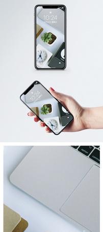 多肉绿植手机壁纸图片