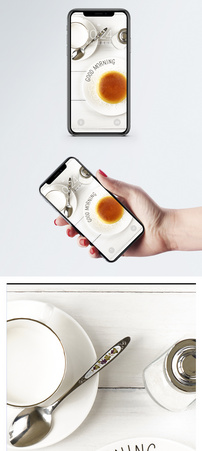 小清新下午茶手机壁纸图片