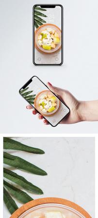 水果沙拉手机壁纸图片