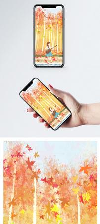 秋天手机壁纸图片