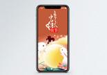 中秋快乐手机海报配图图片