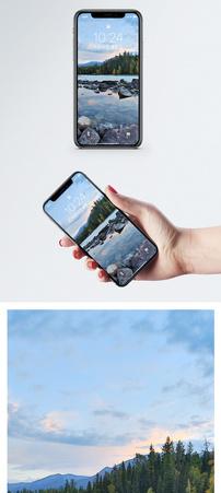 喀纳斯湖手机壁纸图片