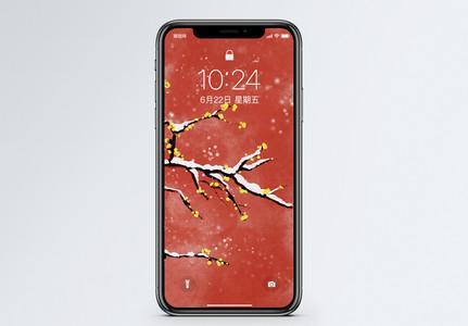中国风梅花手机壁纸图片