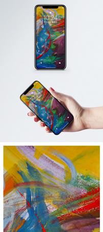 颜色涂鸦手机壁纸图片