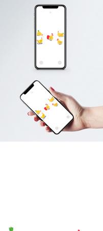卡通动物手机壁纸图片