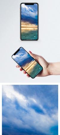清澈盐湖手机壁纸图片