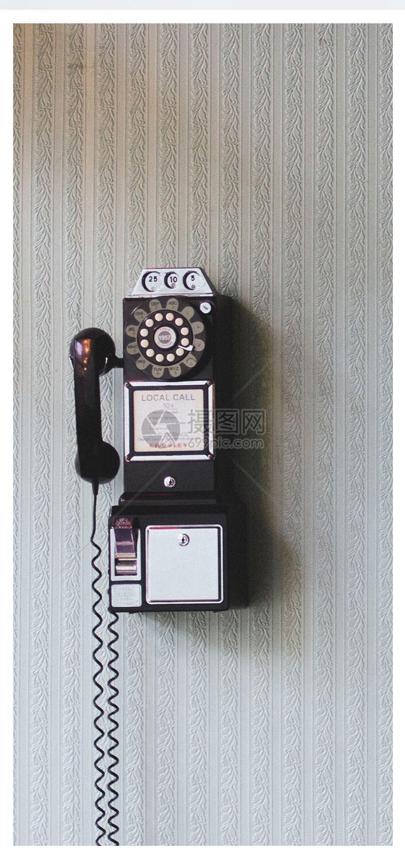 复古电话手机壁纸图片