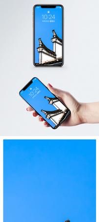 徽式建筑手机壁纸图片