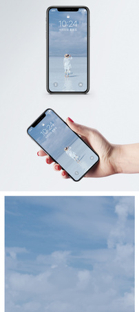 茶卡盐湖手机壁纸图片