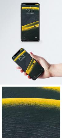 草原美人腰手机壁纸图片