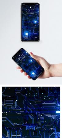 科技电路芯片手机壁纸图片