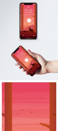 秋季背景手机壁纸图片