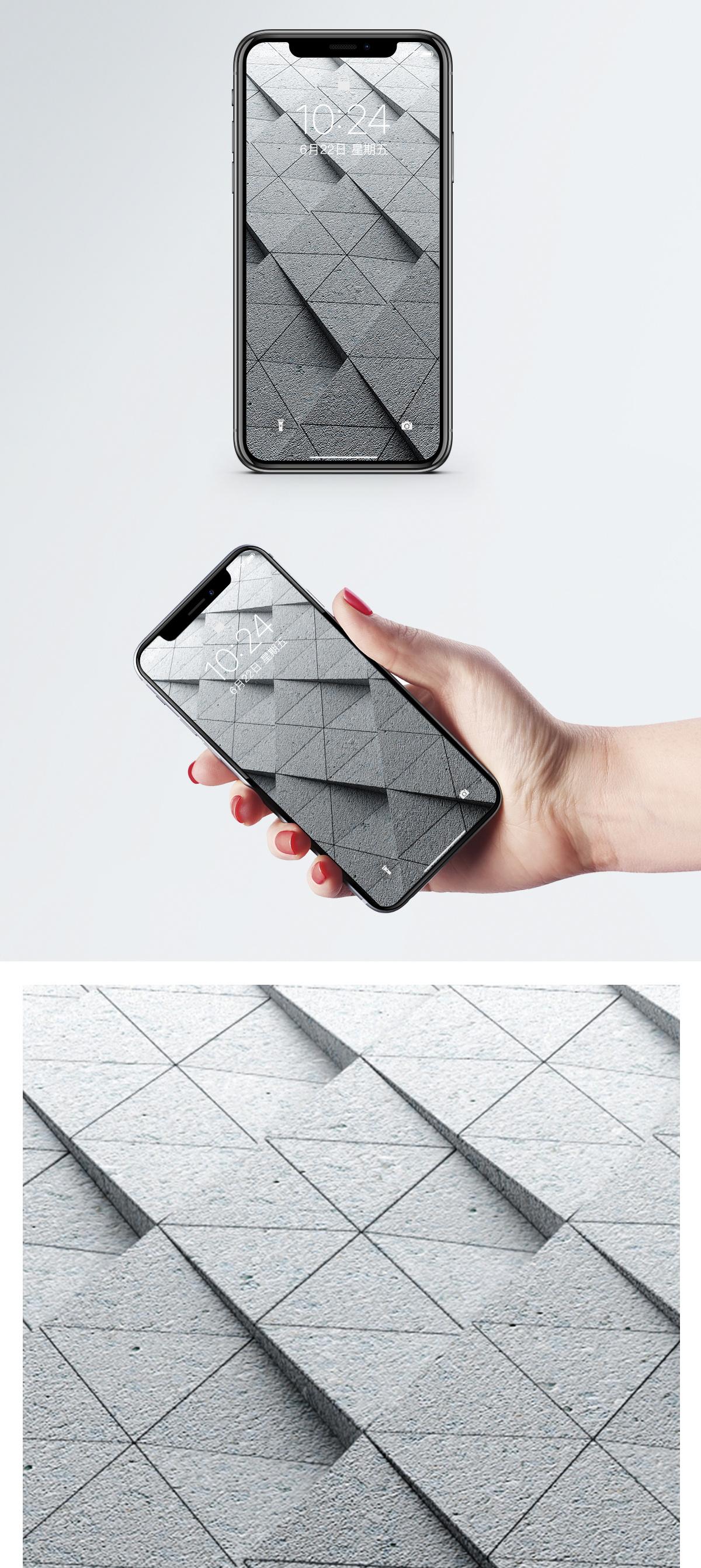 3d抽象空间手机壁纸图片