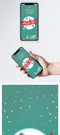 圣诞节手机壁纸图片