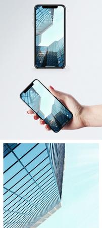 仰拍建筑手机壁纸图片