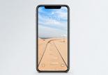 沙漠风光手机壁纸图片