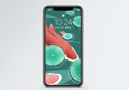 锦鲤手机壁纸图片