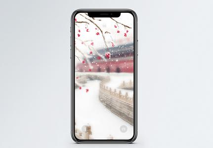 雪手机壁纸图片
