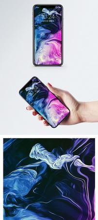 抽象彩色背景手机壁纸图片