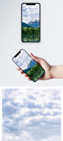高山森林手机壁纸图片