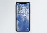 雪景手机壁纸图片
