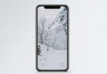 冬季雪景手机壁纸图片