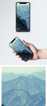 清晨雪山手机壁纸图片
