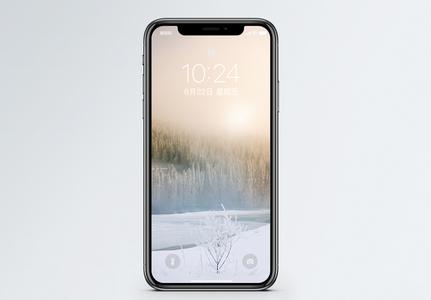 美丽冬日手机壁纸图片