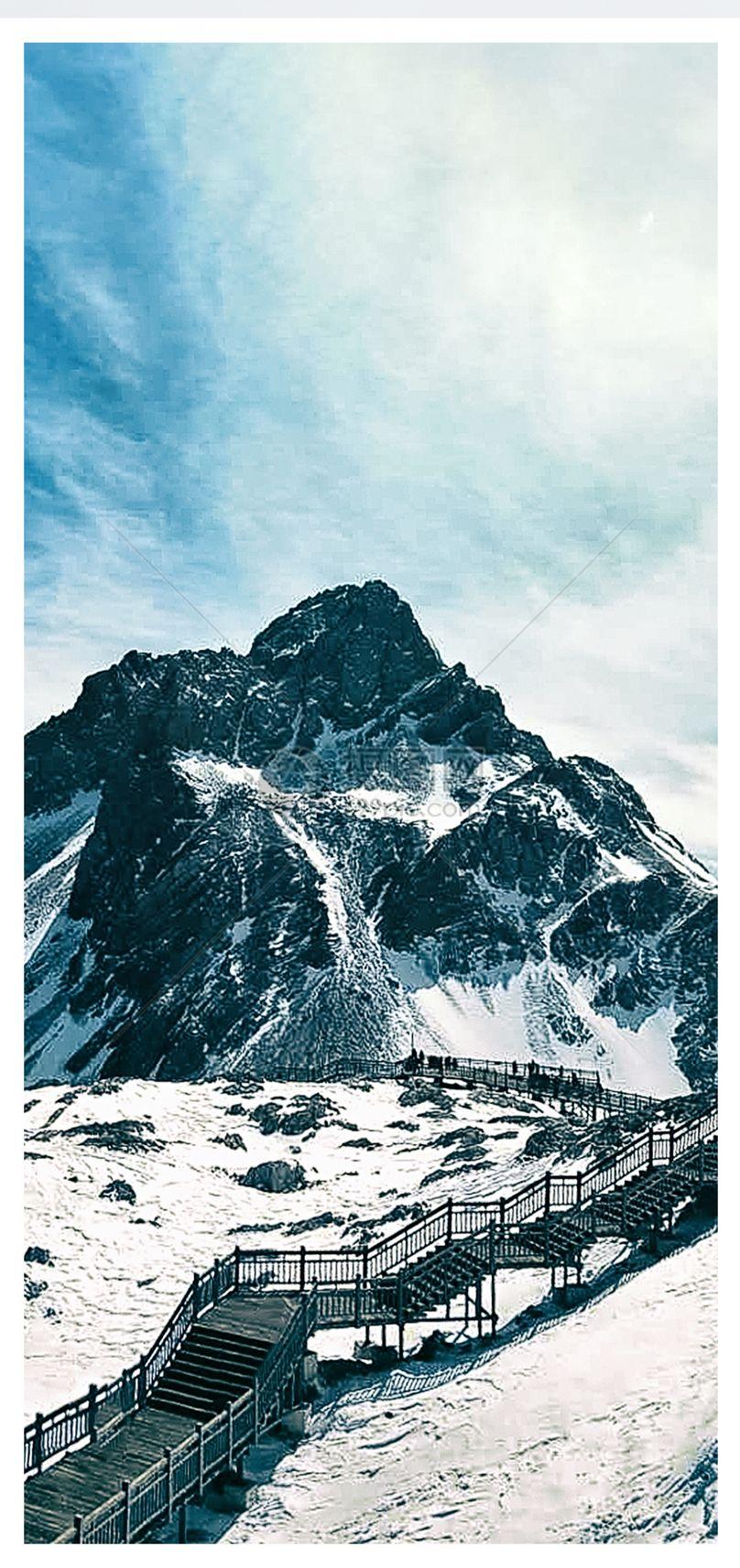 玉龙雪山手机壁纸图片