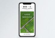 新的一天手机海报配图图片