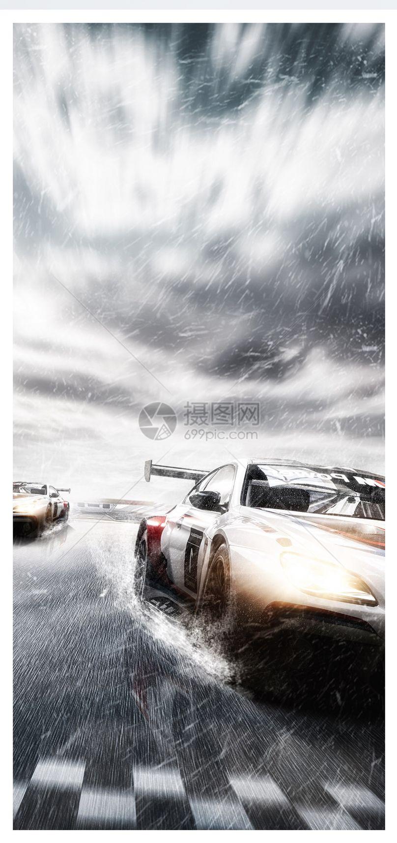 赛车比赛手机壁纸图片