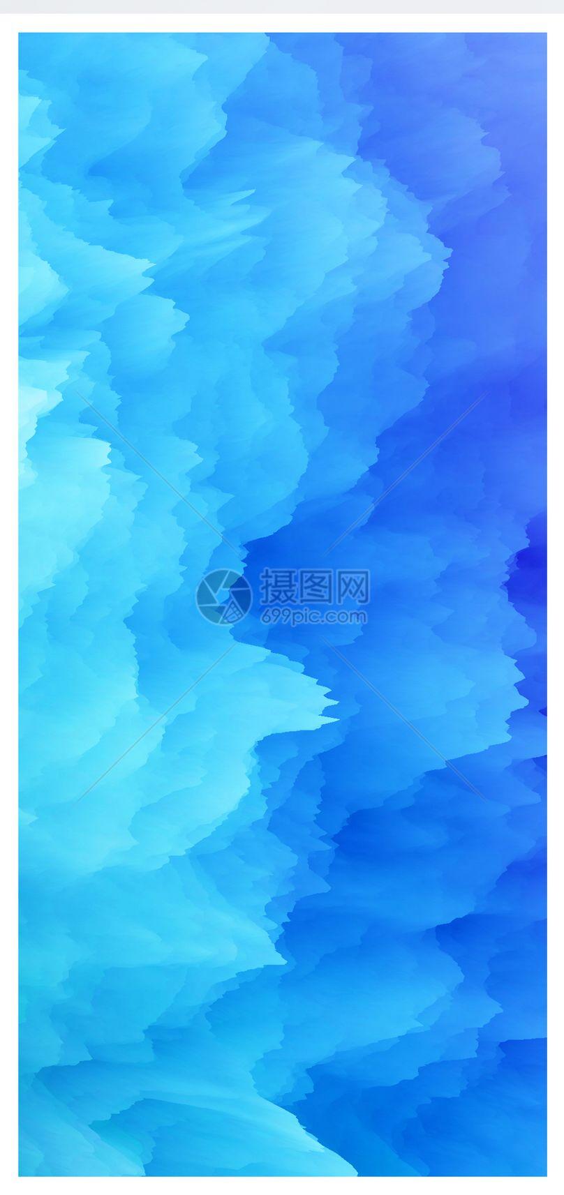 彩色烟雾手机壁纸图片