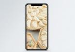 饺子手机壁纸图片