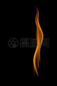 橙色火焰背景图片
