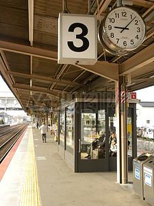火车站的站台图片