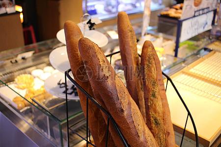好吃的法式面包图片
