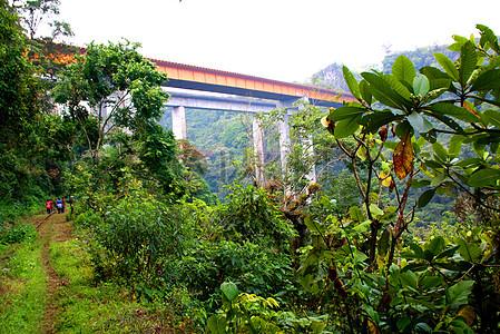远方的高架桥图片