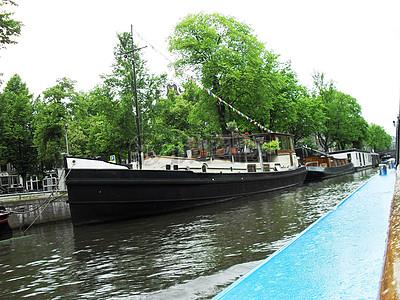 阿姆斯特丹的帆船图片