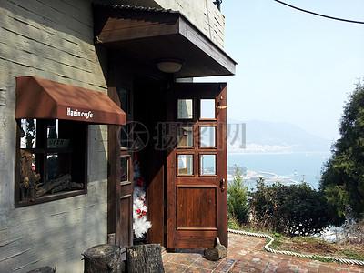 大海边的房子高清图片